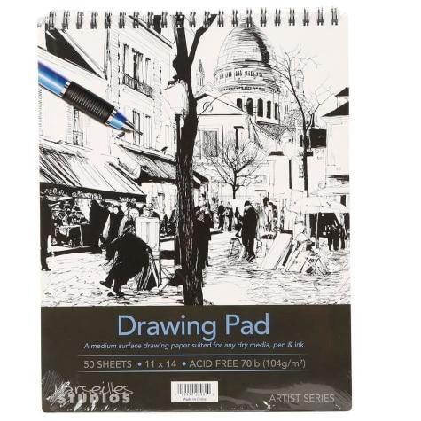 Marseilles Studios Drawing Pad 11 X 14 50 Sheets