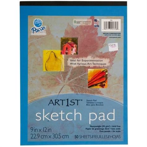 Pacon Sketch Paper Art Pad 9 X 12 50 Sheets