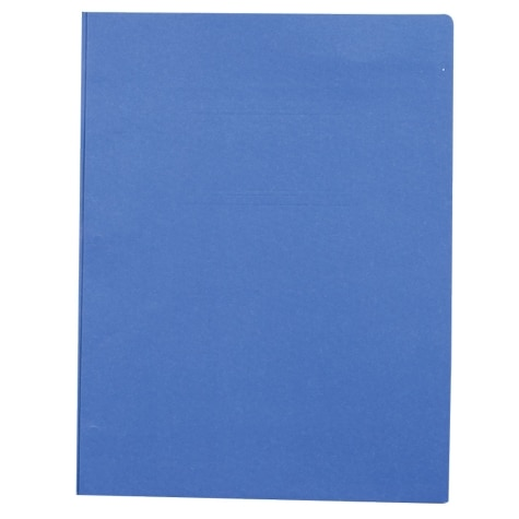 2 pocket paper portfolio with prongs