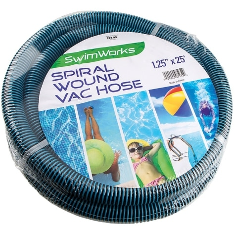 swimworks 25 x 1 25 spiral wound vacuum hose