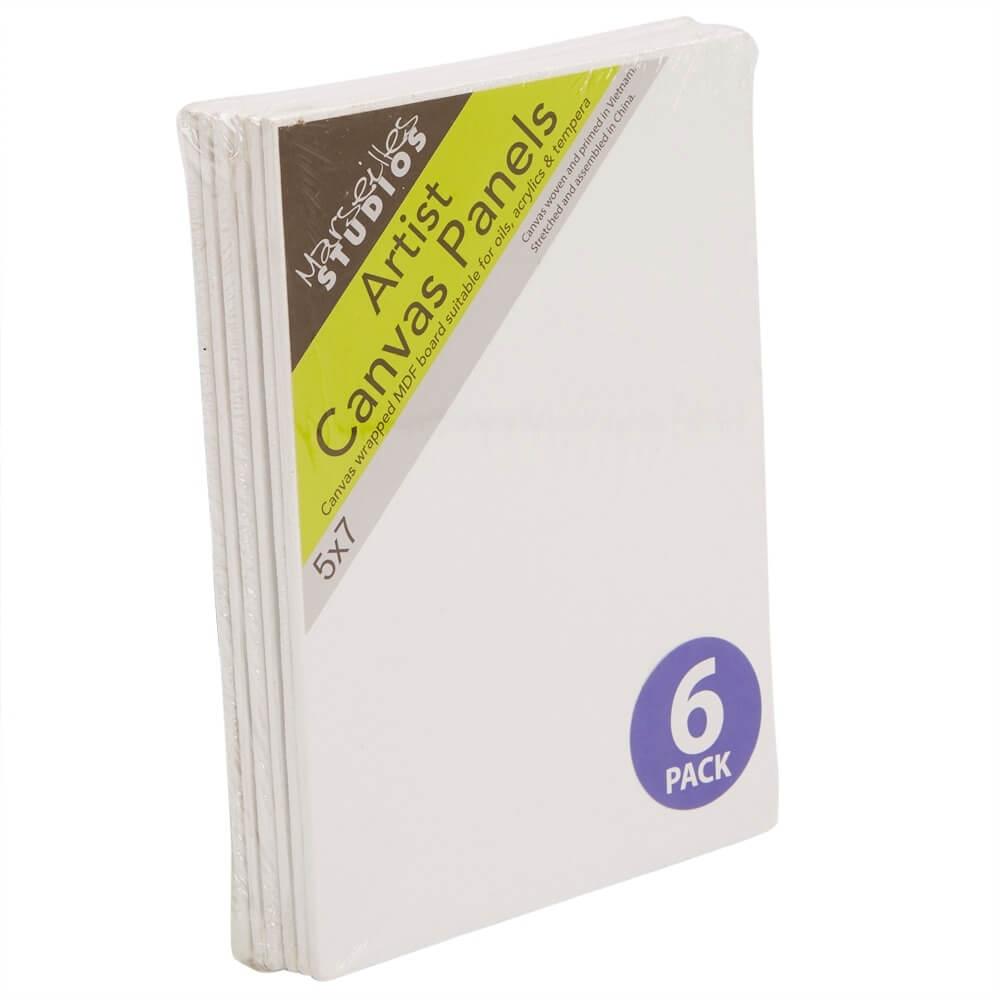 Essentials Acrylic Artist Paper Pad 5X7