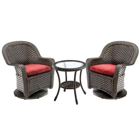 Fabulous Resin Swivel Glider 3 Piece Patio Set Unemploymentrelief Wooden Chair Designs For Living Room Unemploymentrelieforg