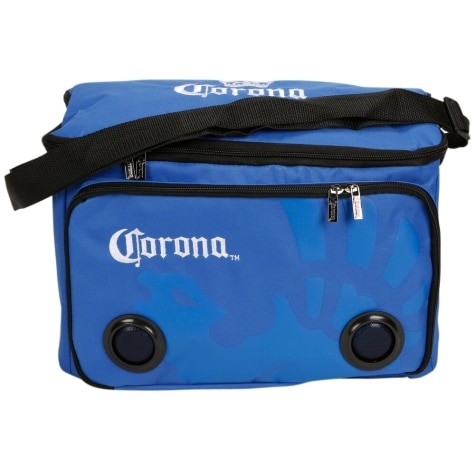 Corona 24-Can Cooler Bag with Built In Bluetooth Speakers