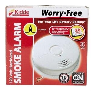 Kidde Hardwired Smoke Alarm 120 Volt