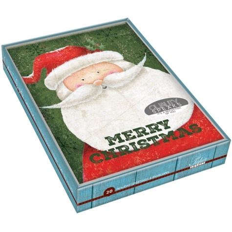 Boxed Christmas Cards.Country Boxed Christmas Cards 20 Pack