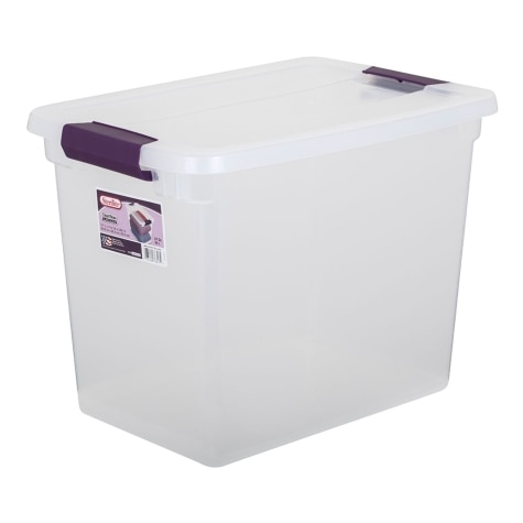 Sterilite 27 Qt Clearview Storage Box