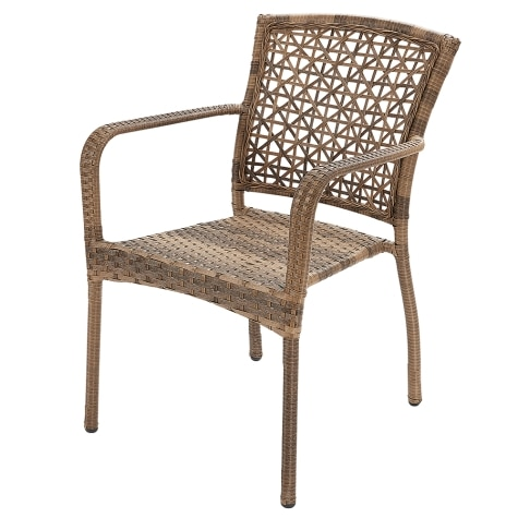 Resin Wicker Stacking Patio Chair, Resin Wicker Furniture