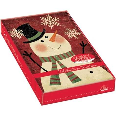 Boxed Christmas Cards.Holiday Memories Boxed Christmas Cards 18 Pack