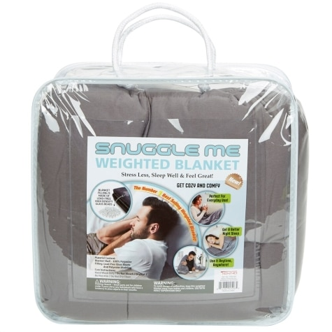 Snuggle Me 15 Lb Weighted Blanket