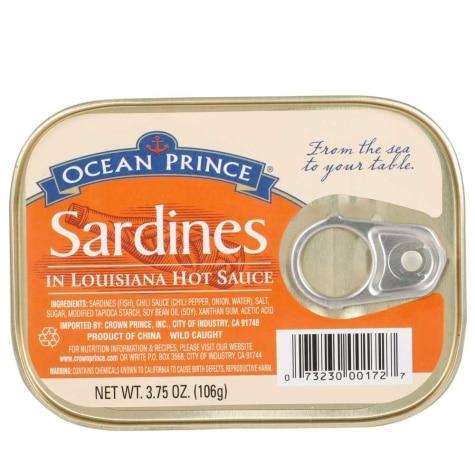 Ocean Prince Sardines In Louisiana Hot Sauce 3 75 Oz