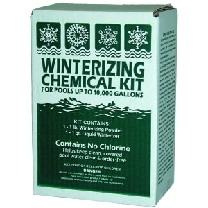 Winterizing Chemical Kit for Pools up to 10,000 gal