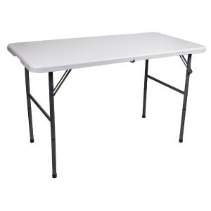Remarkable 4 Steel Frame Folding Table Creativecarmelina Interior Chair Design Creativecarmelinacom