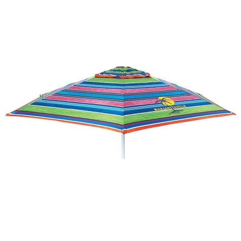 0d35e44dddff 7' Market Style Wind Resistant Beach Umbrella