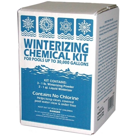Winterizing Chemical Kit for Pools up to 30,000 gal