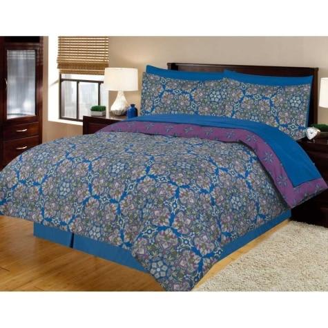 8 Piece Bed In A Bag Queen Comforter Set