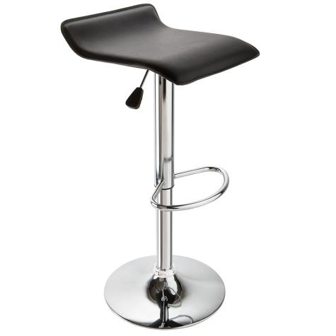 Fantastic Adjustable Height Swivel Bar Stool In Black Pdpeps Interior Chair Design Pdpepsorg