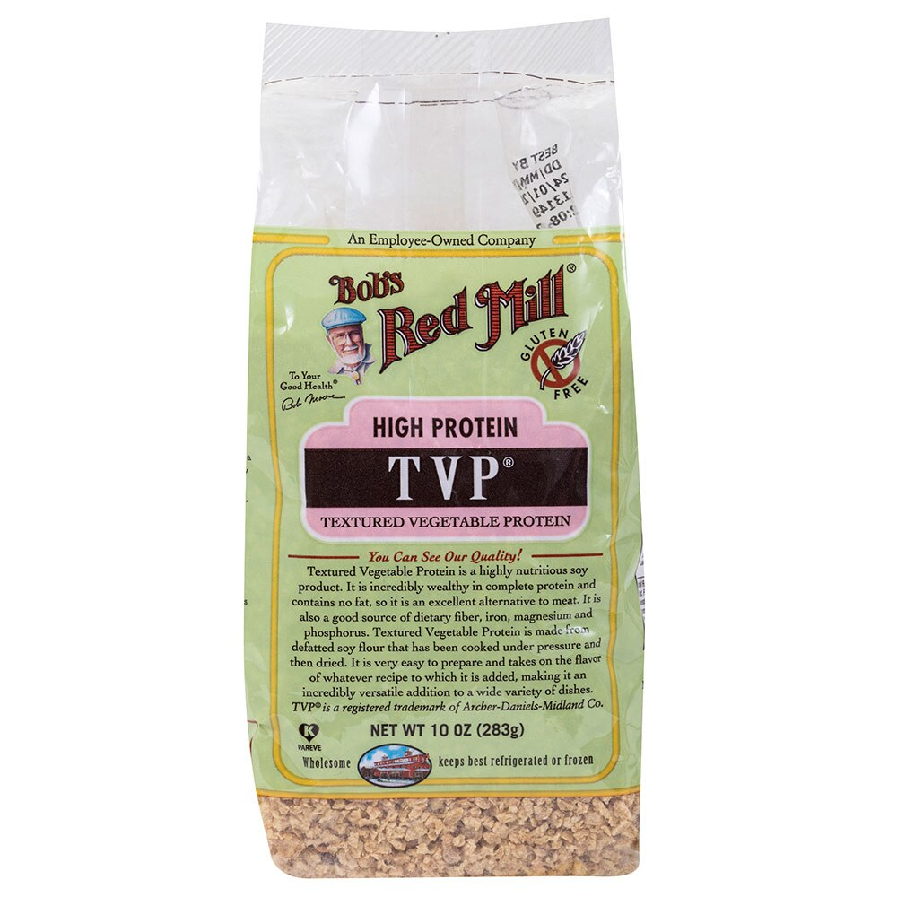 Bob S Red Mill Gluten Free Textured Vegetable Protein Tvp