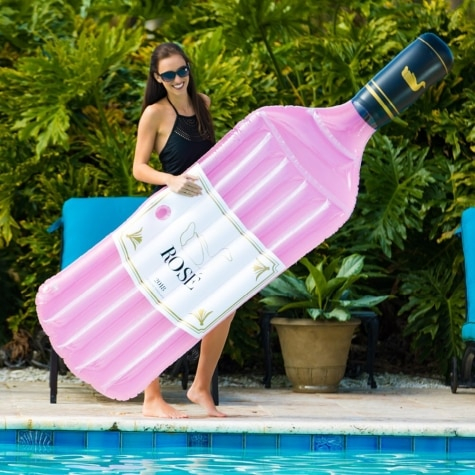 Swimline Inflatable Rose Pool Float
