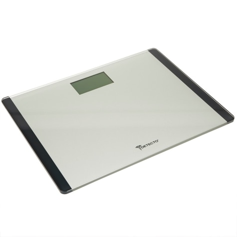. Detecto Wide Body Platform Glass Digital Scale