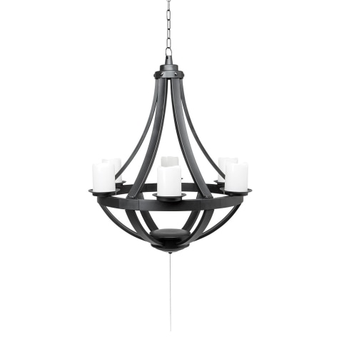 new arrival 7ce2e 655c8 Regency Gazebo LED Outdoor Chandelier Light with Remote Control