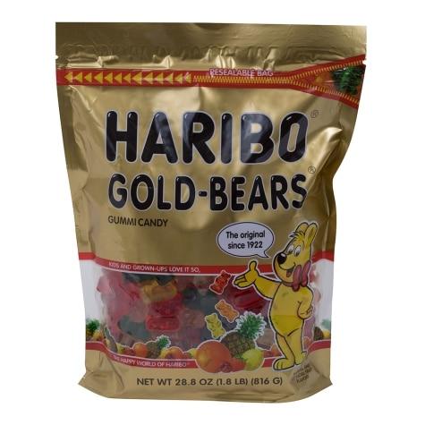 Haribo Gold Bears Gummi Candy 28 8 Oz