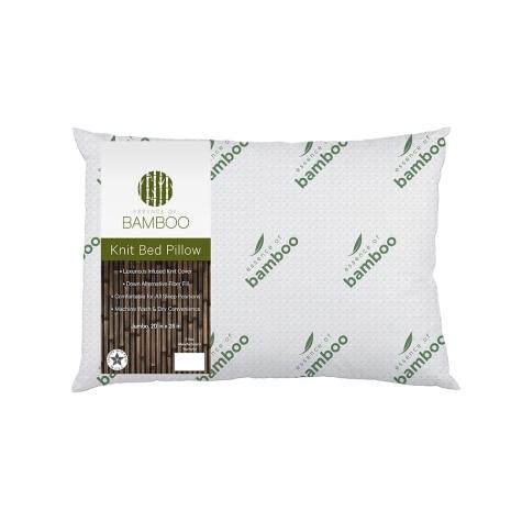 Essence Of Bamboo Knit Jumbo Pillow